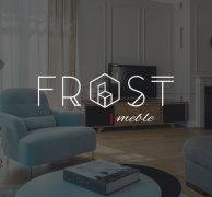 Frost furniture logo branding architecture