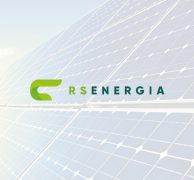 RS energia energy logo premium brand branding