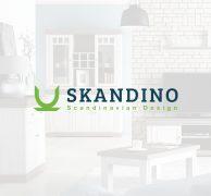 Skandino norge logo design premium branding