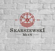 skarszewski młyn logo design investment home logo premium